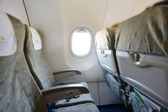 Interior dos aviões de Vietnam Airlines Foto de Stock Royalty Free