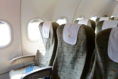Interior dos aviões de Vietnam Airlines Foto de Stock