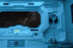 Interior dos elementos da estação espacial imagem de stock royalty free
