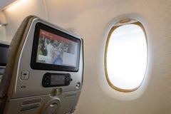 Interior dos emirados A380-800 Imagens de Stock Royalty Free