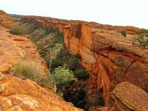 Interior dos reis Garganta de Austrália Imagens de Stock