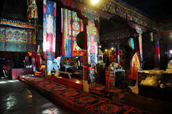Interior Drepung Monastery Royalty Free Stock Images