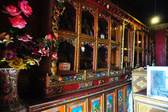 Interior Drepung Monastery Royalty Free Stock Photos