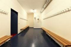 Interior of a dressing room Stock Images