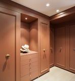 Interior, elegant wardrobe Stock Image