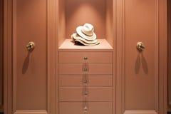 Interior, elegant wardrobe Stock Photos
