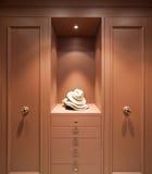 Interior, elegant wardrobe Stock Photo