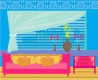 Interior elegante da sala de visitas Imagens de Stock