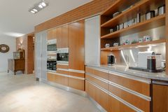 Interior elegante del apartamento de lujo Foto de archivo