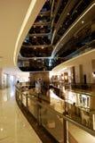 Interior elegante del pasillo del hotel de lujo turco Imagen de archivo
