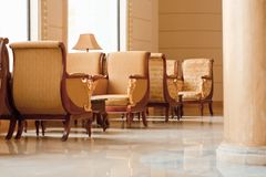 interior elegante - hoteles y concepto del viaje imagen de archivo