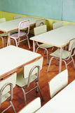 Interior of elementary school room Royalty Free Stock Photo