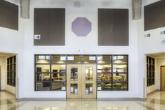 Interior of Elementary School Royalty Free Stock Photo