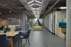 Interior em um estilo do sótão Imagens de Stock