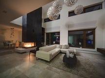 Interior em um estilo moderno Imagens de Stock