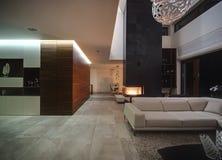 Interior em um estilo moderno Foto de Stock