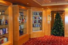 Interior em um navio de cruzeiros Foto de Stock