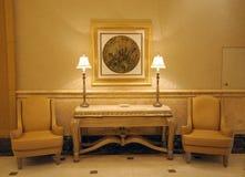 Interior of Emirates Palace, Abu Dhabi Stock Photo