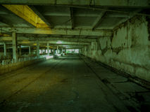 Interior empty, abandoned building zombie scene Royalty Free Stock Photography