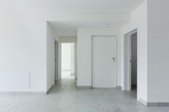 Interior of empty apartment Royalty Free Stock Images