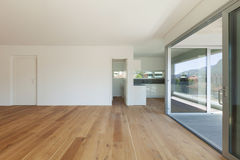 Interior of empty apartment Stock Photography