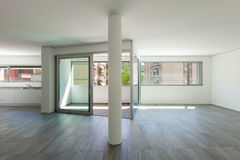 Interior of empty apartment Royalty Free Stock Photos