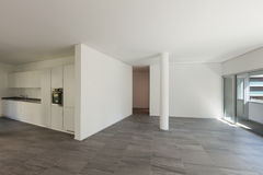 Interior of empty apartment Royalty Free Stock Photo