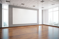 Interior with empty billboard Stock Photos