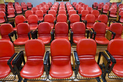 Interior of empty conference hall royalty free stock photo