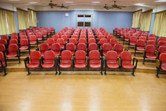 Interior of empty conference hall Stock Photography