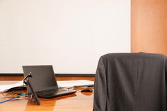 Interior of Empty Conference Room Royalty Free Stock Image