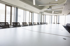 Interior of empty conference room in creative office Stock Photography