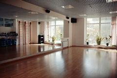 Interior of an empty gym Royalty Free Stock Photo