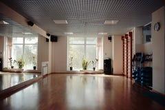Interior of an empty gym Stock Photos
