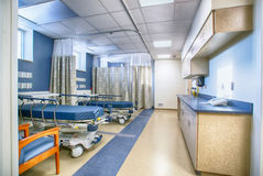 Interior of empty hospital room Royalty Free Stock Images