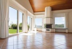 Interior empty livingroom Royalty Free Stock Photos