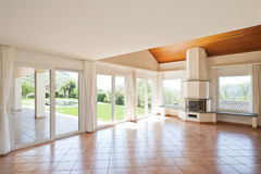 Interior empty livingroom Royalty Free Stock Photography