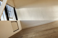Interior empty loft Stock Photography