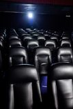 Interior Of Empty Movie Theater Royalty Free Stock Photo