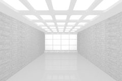 Interior empty new room Royalty Free Stock Images