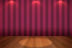 Interior empty pink wall Royalty Free Stock Photos