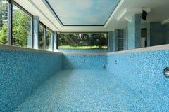 Interior, empty pool Stock Image