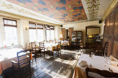 Interior of empty restaurant Royalty Free Stock Photography