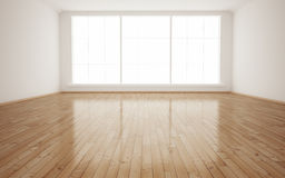 Interior empty room stock illustration