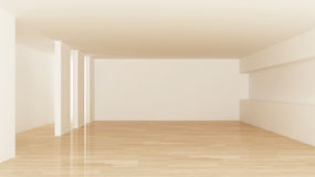 Interior of empty room Stock Photography