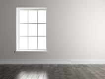Interior empty room 3D rendering. Interior of empty room 3D rendering Stock Image
