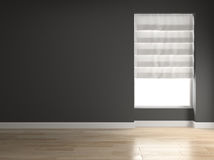 Interior empty room 3D rendering Stock Photography
