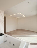 Interior, empty room with jacuzzi Royalty Free Stock Photography