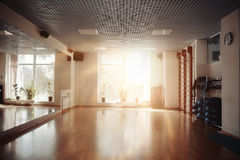 Interior empty room with morning light Royalty Free Stock Photo