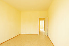 Interior of an empty room in new house Stock Photo